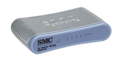 Switch SMC SMCFS5 5 Portas 10/100 Mbps